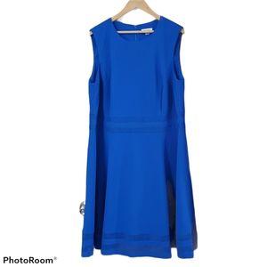 Calvin Klein royal blue sleeveless dress size 20w